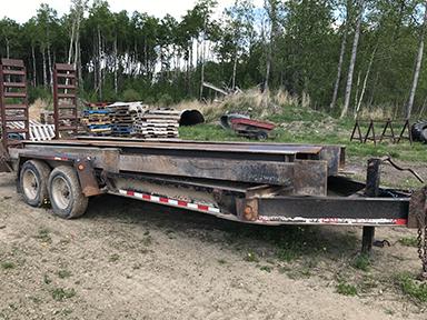 18ft heavy duty trailer